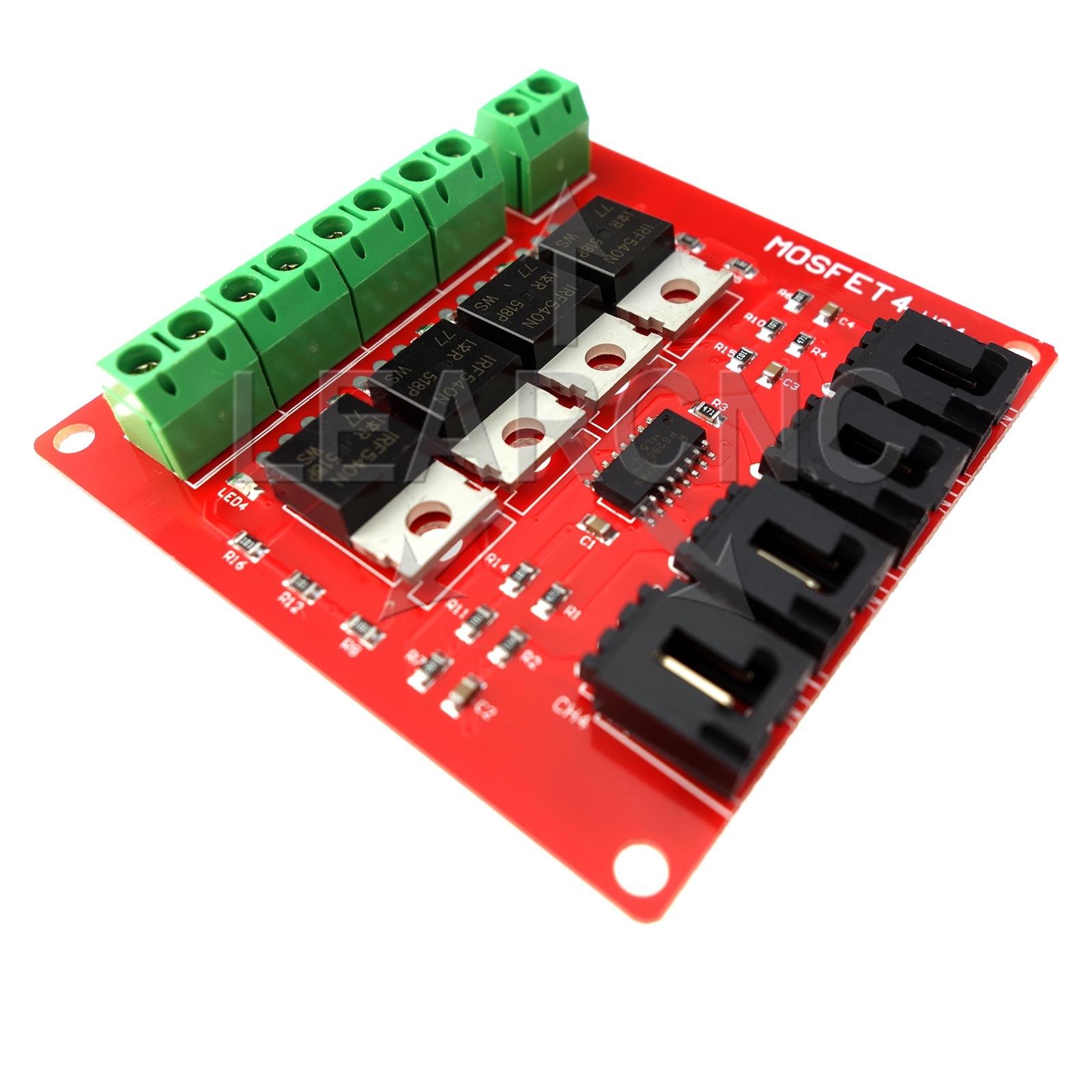 Irf540 Mosfet 4 Port Logic Level Optoisolator Switch